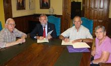 ADEPAR recibe la ayuda económica de la Diputación de Toledo y de La Caixa