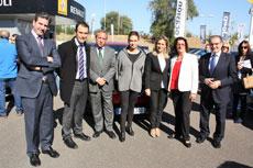 Caja Rural Castilla-La Mancha apoya la X Feria del Vehículo de Ocasión de Toledo