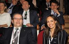 Caja Rural Castilla-La Mancha asiste a la inauguración de la II Cumbre Internacional del Vino