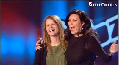 Cristina Brasero, la talaverana que tratará de convertirse en 'La Voz' en el equipo de Laura Pausini