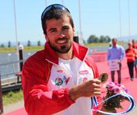 Paco Cubelos logra la medalla de bronce en la Copa del Mundo de Portugal