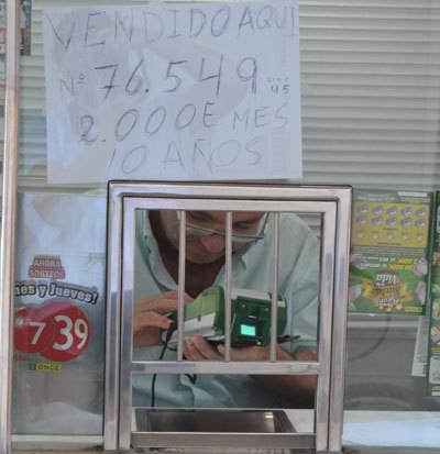 Un vendedor de la ONCE de Talavera deja un sueldo al mes de 2.000 euros durante 10 años