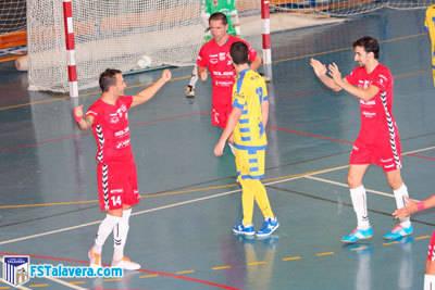 El Soliss FS Talavera consigue los tres puntos ante un combativo Denia