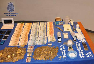 La Policía desarticula un grupo criminal en Talavera que se dedicaba al tráfico de drogas