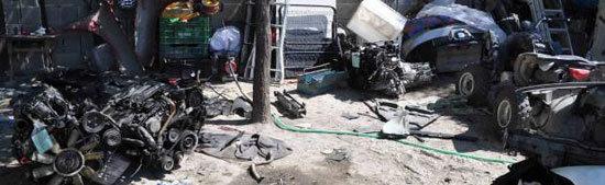 Dos detenidos por ocho delitos de robo de vehículos que desguazaban en El Casar de Escalona