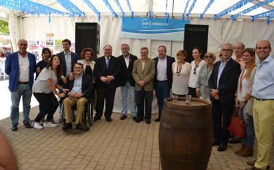 """Tirado: """"Page es el primer presidente de la historia de Castilla-La Mancha que no ha ganado las elecciones, y eso es una decepción y una destrucción para Castilla-La Mancha"""""""
