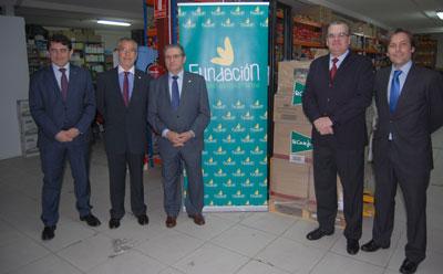 La Fundación Caja Rural Castilla-La Mancha dona 1.000 kilos de alimentos a Cáritas Talavera