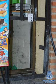 Detenido el presunto autor de dos robos con fuerza en un restaurante y otro local de Toledo
