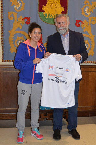 Talaveranos con destino a la media maratón de Sevilla
