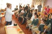 El programa 'Educachef' forma a los alumnos en hábitos saludables de cocina y alimentación