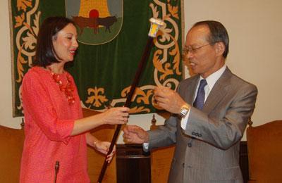 El embajador de Taiwán pretende estrechar los lazos de unión con Talavera