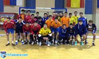 El FS Talavera realizó una sesión de entrenamiento con Formación Deportiva