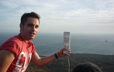Rubén López: 'No me veo más especial por ser gay, soy exactamente igual que las demás personas'