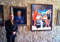 Exposición del talaverano Luis Sánchez Corrochano en el Castillo de Oropesa