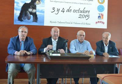 Más de 4.000 perros de 200 razas estarán en la 32ª Exposición Internacional Canina de Talavera