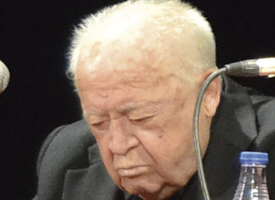 Fallece D. Manuel Sainz-Pardo, vicerrector de la Basílica y anteriormente capellán