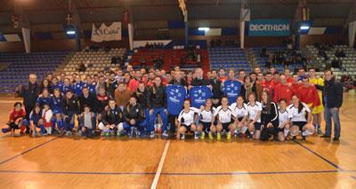 El fútbol sala de la comarca se unió en el Torneo Benéfico de Navidad para Cruz Roja