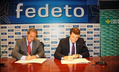 Caja Rural CLM proporciona 60 millones de euros a Fedeto para atender las demandas de financiación empresarial