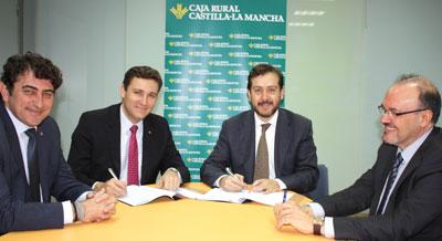 Caja Rural Castilla-La Mancha destina 20 millones a los ayuntamientos de la provincia de Toledo para facilitarles el anticipo de la recaudación de sus impuestos