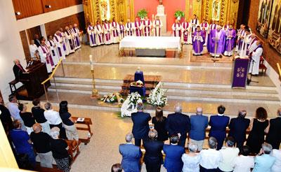 El Arzobispo de Toledo presidió el funeral por el sacerdote Miguel Pajares Martín, misionero en África