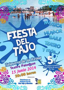 La Plataforma del Tajo celebrará la fiesta por el río el 15 de junio en el Palenque