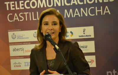 Marta García destaca que el Gobierno de Cospedal ha destinado tres millones de euros para dotar de banda ancha ultrarrápida a las zonas rurales en 2015