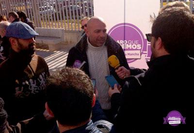 José García Molina presenta su candidatura a la Secretaría General de Podemos Castilla-La Mancha