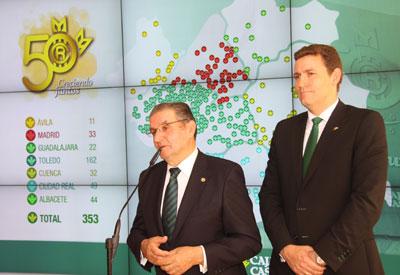 Caja Rural de Castilla-La Mancha cierra 2014 con un espectacular crecimiento