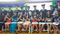 Los alumnos de 4º de ESO del Ruiz de Luna se graduaron tras trece años en el centro
