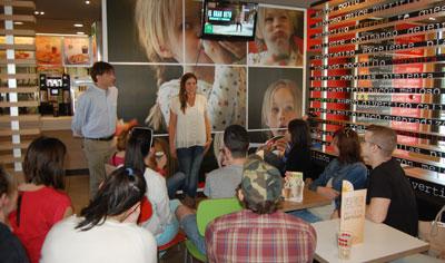 'Vivimos nuestro trabajo', el mensaje de McDonald's Talavera en su spot de 'El gran reto'