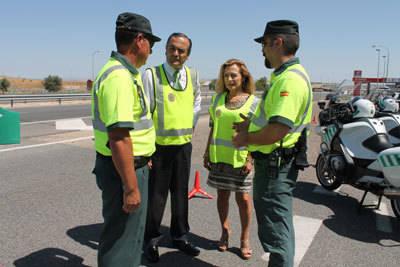 Gregorio anuncia que se prevén 12.665.100 desplazamientos por las carreteras de Castilla-La Mancha durante julio y agosto