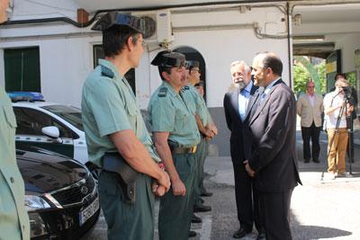 Gregorio indica que el índice de criminalidad es casi dos puntos más bajo en Talavera que en la región
