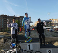 Buenos resultados para los pilotos del club BMX Los Pinos en Madrid