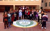 La noche más 'terrorífica' se adelanta en el colegio Juan Ramón Jiménez