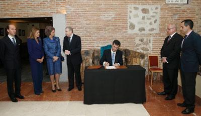 Talavera de la Reina, Olmedo y Guadalajara se hermanan en torno a la figura de María de Portugal