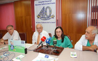 """El Hospital """"Nuestra Señora del Prado"""" de Talavera registra 60 donantes de médula ósea en los ochos primeros meses del año"""