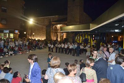 Concierto ofrecido para inaugurar la Plaza del Salvador.
