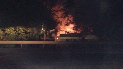 El incendio en el IES San Isidro pudo deberse a la combustión espontánea de las pacas de forraje