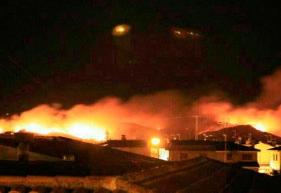 Extinguido el incendio que afectó a una gran superficie en la Finca de Valdehigueras