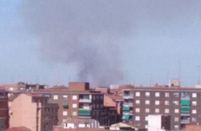 Los bomberos de Talavera y Belvís apagan un pequeño incendio junto a Torrehierro