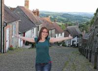 TALAVERANOS POR EL MUNDO: Jessica Sánchez, 33 años (Sherborne, Inglaterra)