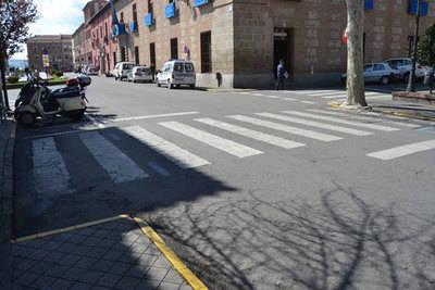 Cien pasos de peatones accesibles en Talavera
