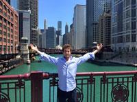 TALAVERANOS POR EL MUNDO: Jorge López, 26 años (Chicago, EE.UU.)