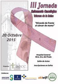 Profesionales de enfermer�a y voluntarios de la AECC participar�n en la III Jornada de Enfermer�a Oncol�gica en el Hospital de Talavera