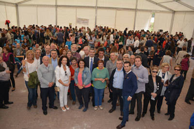 Álvaro Gutiérrez apoya con su presencia la I Jornada contra el cáncer y enfermedades raras en El Real de San Vicente