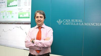 Juan Antonio Delgado Jiménez, nuevo responsable del Área de Mercado de Capitales de Caja Rural de Castilla-La Mancha