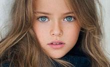 Kristina Pímenova, la niña más guapa del mundo con sólo nueve años