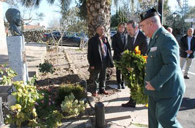 Hinojosa de San Vicente rinde homenaje a José Ángel de Jesús Encinas a punto de cumplirse 15 años de su asesinato a manos de ETA