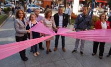 El color rosa vuelve a simbolizar en Talavera la lucha contra el cáncer de mama