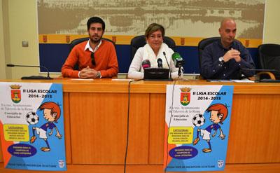 Más de 350 escolares y 29 equipos para la II Liga Escolar de Fútbol Sala